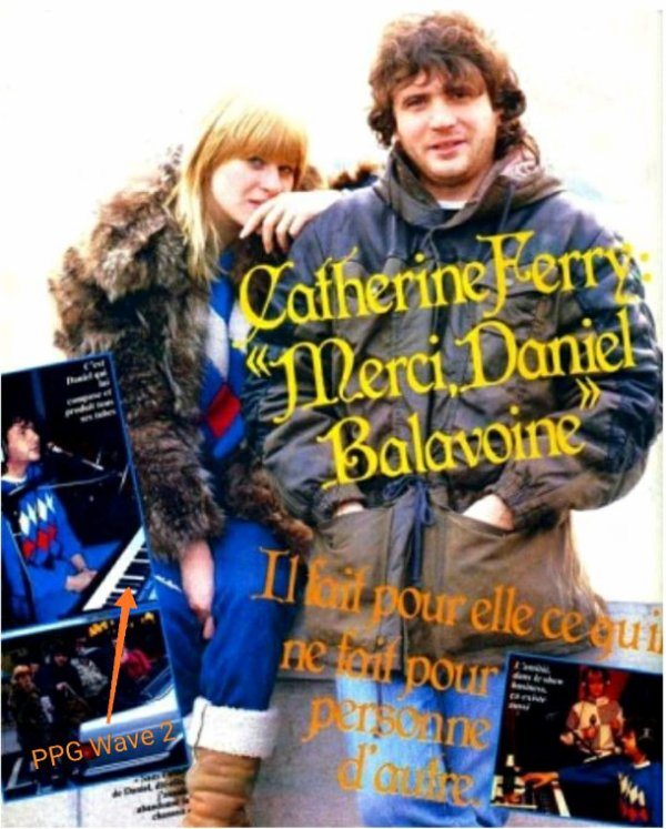 Matériel sur l'album de Catherine Ferry