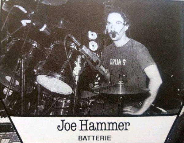 Le bras droit d'Andy Scott : Joe Hammer