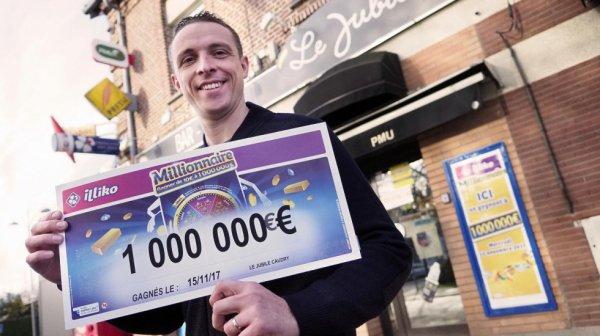 Il gagne un million d'euros à un jeu de grattage