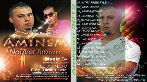 L'album 2013 Aminem