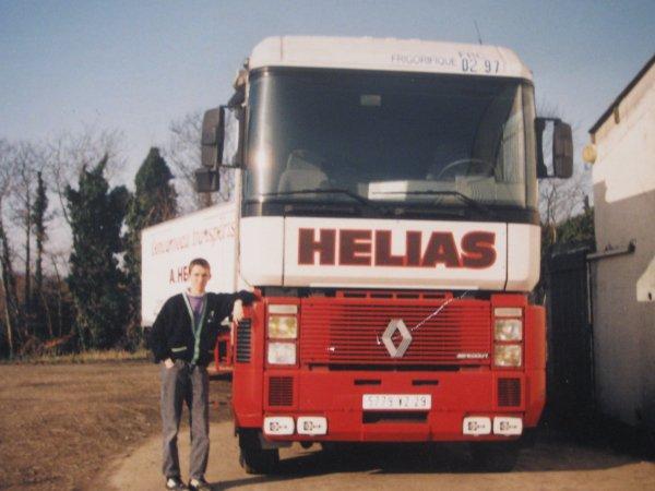 les camion que mon homme a conduit
