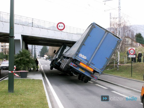 accident de camion