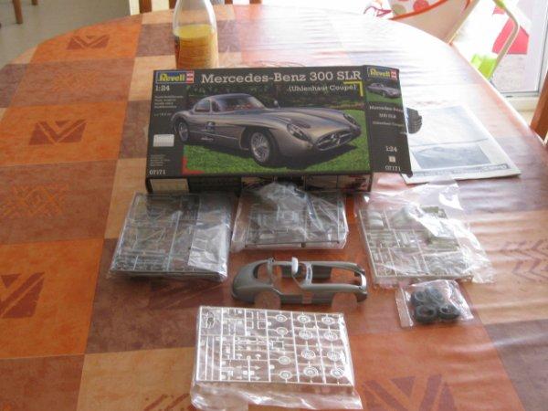 maquette mercedes-bens 300 slr
