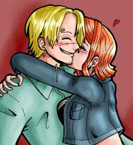 Zoro: Le blond la rousse et le brun.