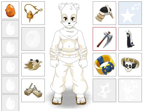 Up bijoutier, changement panda et un nouvel ami ;)
