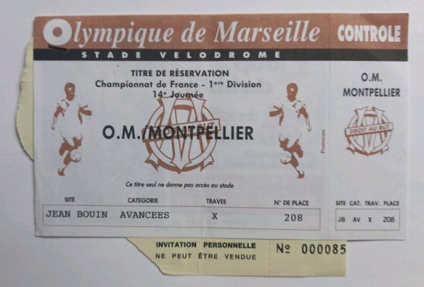 Collection Olympique de Marseille