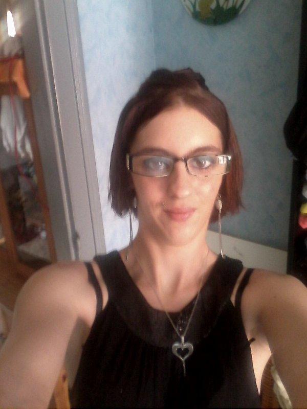 Juste moi avec les lunette