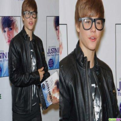 Justin bieber n'a pas froid aux yeux