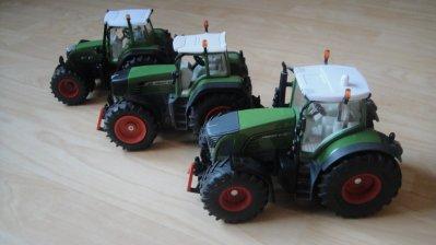 Tracteurs Fendt 718 vario, 930 vario, 936 vario