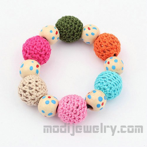 Sweet color balls bracelets fashion lovely jewelry china fashion jewelry fashion bangles fashion jewelry store