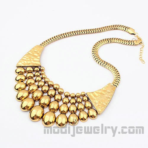 Metal vintage choker necklaces chic necklaces fashion jewelry wholesale china fashion jewellery retail trendy jewel