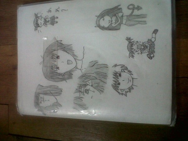 dessin mangas