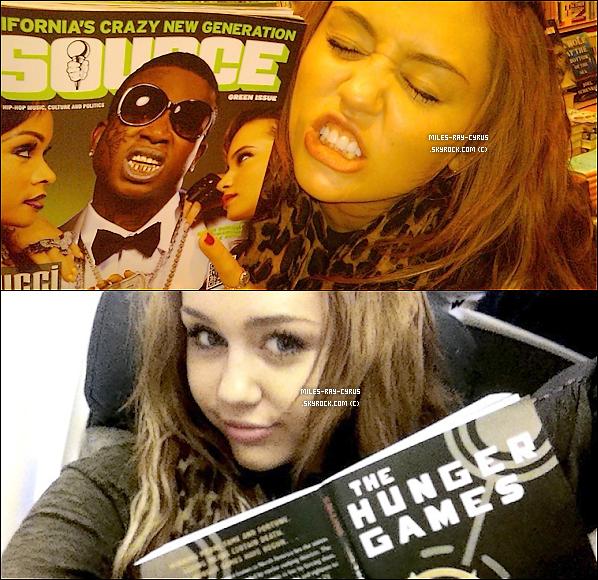 07.04.11 : Miley était à l'aéroport de LAX à Los Angeles pour s'envoler à Chicago. T'aime sa tenue ? Moi perso c'est mon style donc j'adore vraiment , elle est magnifique , j'aime beaucoup sa boufanta ( écharpe ) léopard big TOP.