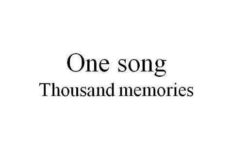 La musique, c'est des rires pour effacer ses pleurs.