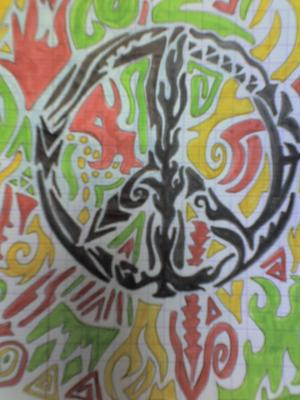 77 me dessin peace and love tribal mes dessins - Dessin peace and love ...