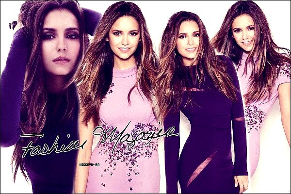 De nouvelles photos du photoshoot de Nina pour 'Fashion Magazine' sont apparues.