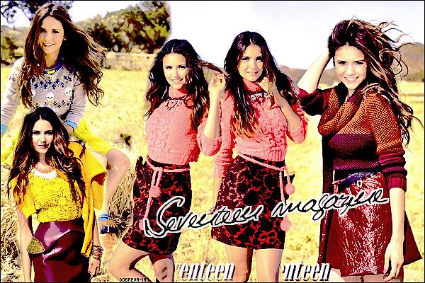 Nina fera la couverture du magazine Seventeen du mois d'Octobre prochain