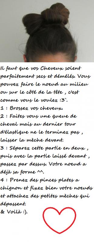 Coiffure ^^.
