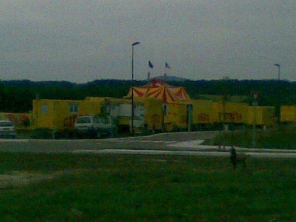 Zoo circus le nouveau chapiteau