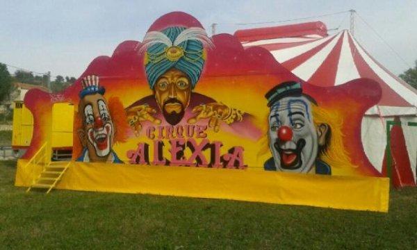 Le cirque alexia a gaujac suite et fin