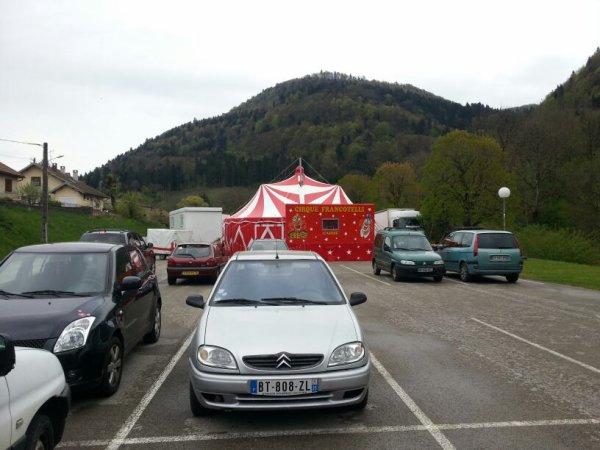 Le cirque francotelli toujours dans le Doubs