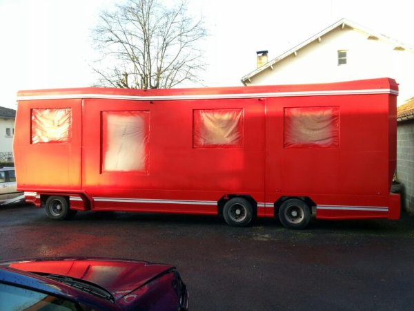 Nouvelle caravane du cirque