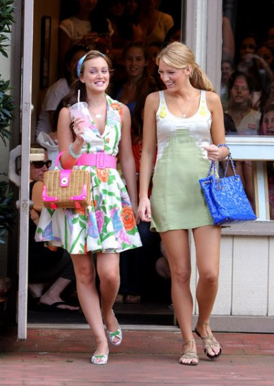 Serena van der Woodsen and Blair Waldorf