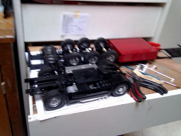 Daf  xf 105 BLACK chassis