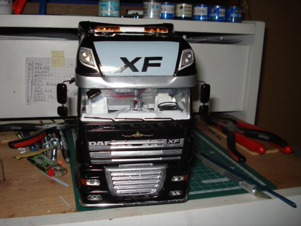 Daf  xf 105 BLACK