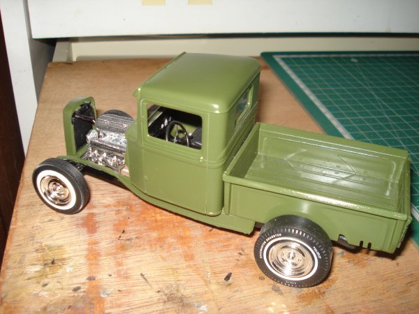 Ford 34 pick up transformer en hot rod