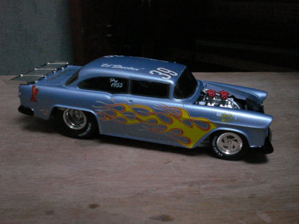 55 chevy dragster
