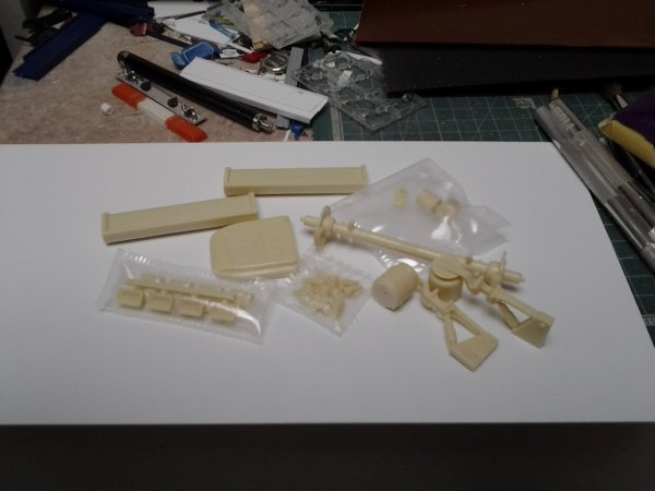 Pieces resine