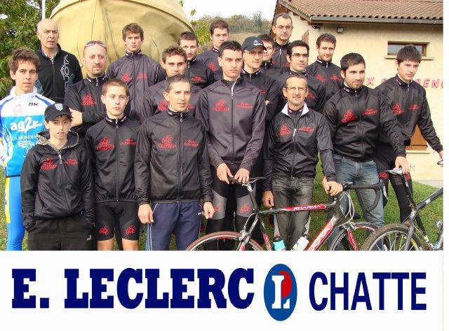 Team Salvoldi, les men in black cyclistes de chatte