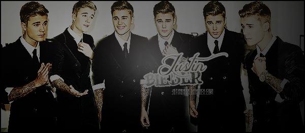 • Bienvenue sur ta source d'actualité dédiée au célèbre chanteur canadien Justin Bieber.  Suis son quotidien à travers divers supports tels que des candids, events, photoshoots ou encore à travers ses réseaux.