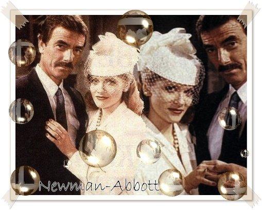 Famille Newman   Mariage de Victor avec Leanna LOve en 1988