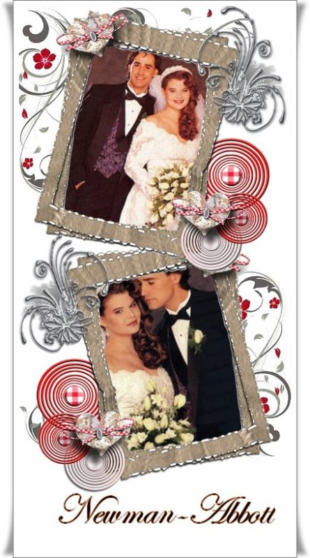 Famille Newman  Victoria et Cole remariage (1994/1998)