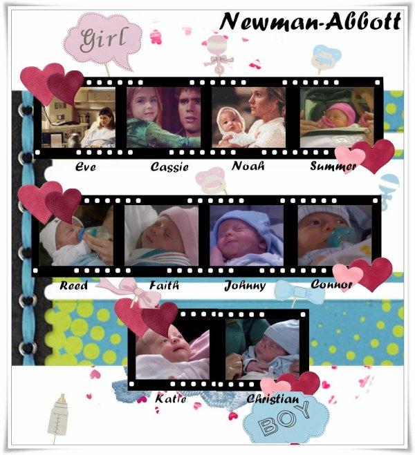 Famille Newman  Les  Petits enfants de Victor