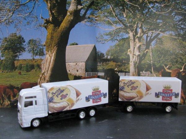 camion porteur man avec remorque reproduction personnelle du camion d 39 un transporteur de la. Black Bedroom Furniture Sets. Home Design Ideas