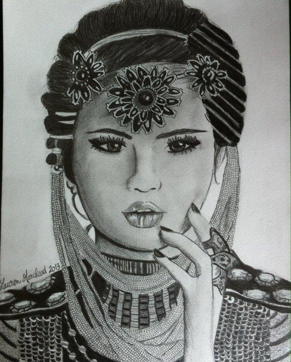 Selena Gomez - Star Dance (dessin)