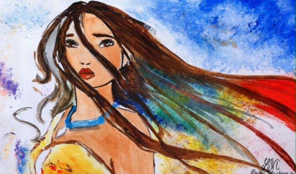 Pocahontas (peinture)