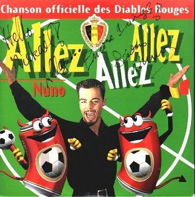 """Hymne:  Les Diables Rouges """"Allez allez allez"""""""