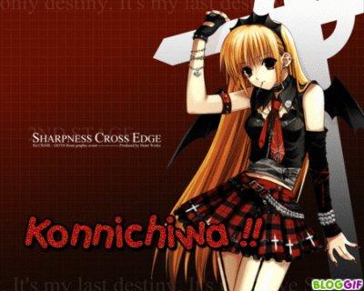 Konnichiwa!