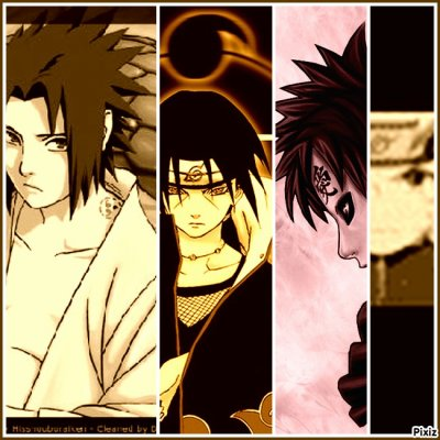 montages photos naruto
