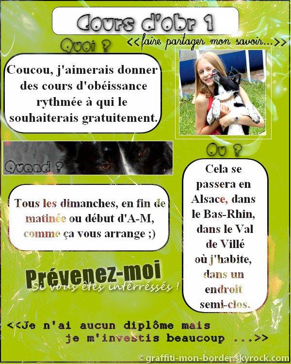 Cours d'obr gratuits ! :)