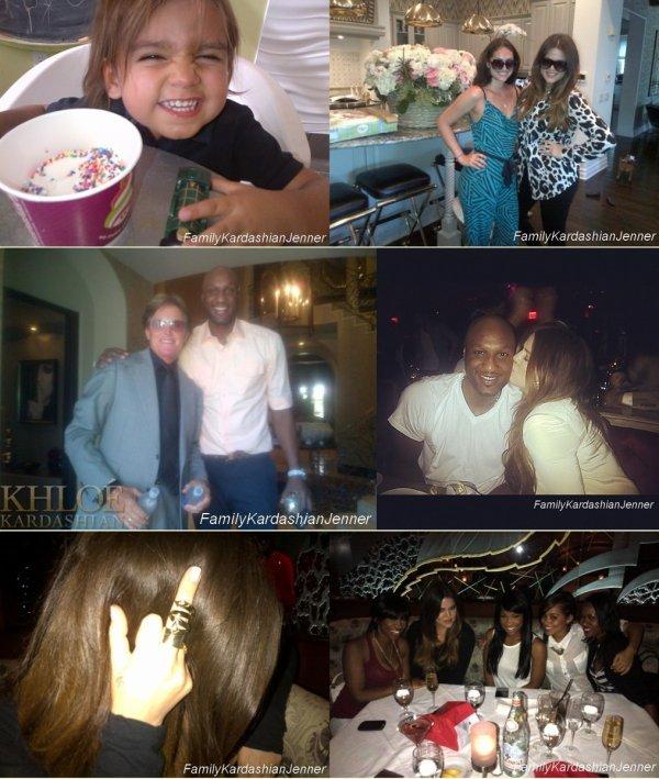 Photos personnelle de Khloé