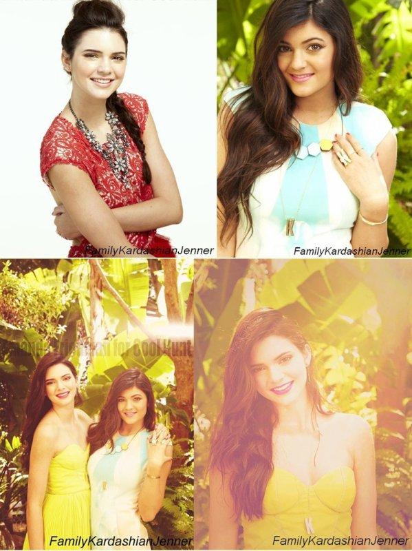 Kendall & Kylie pour GirlFriend Magazine