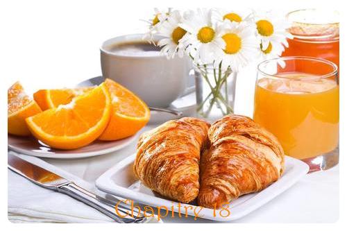 Chapitre 18: Petit déjeuner bien mouvementé