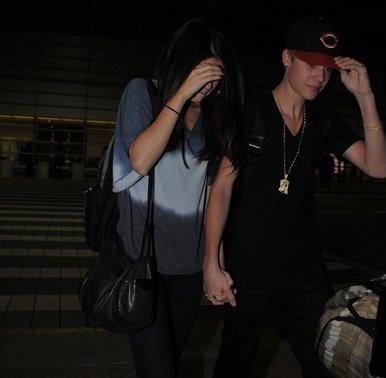 Le 10 décembre 2011 Séléna et Justin arrivent à Washington