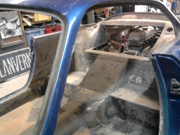 Restauration alpine a110 blog de 4a110 for Interieur alpine a110
