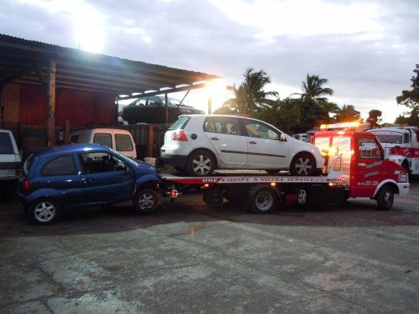 accident deux voiture